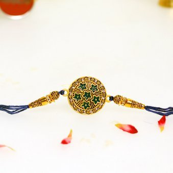 Product View in Brotherly Rakhi Signature Box