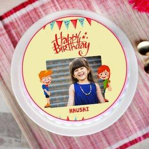 Cheerful Photo Cake