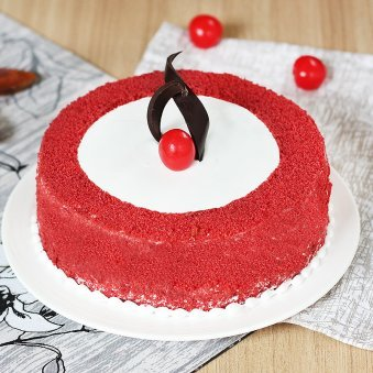 Cherrylicious Red Velvet Cake with Normal View