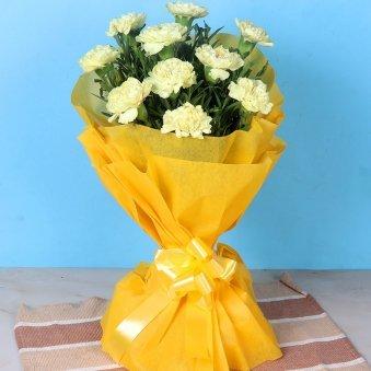Classy Carnations N Rakhi