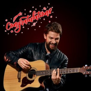 Congratulation With Music and Song