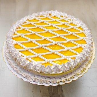 Mango Cake with Cream
