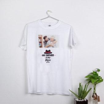 Custom Father Hero Tshirt