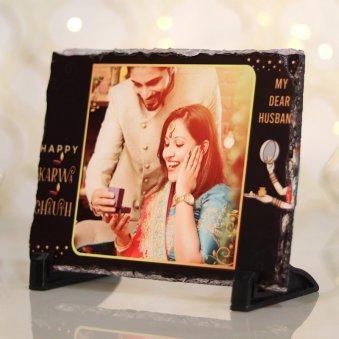 Custom Karwa Chauth Photo Frame