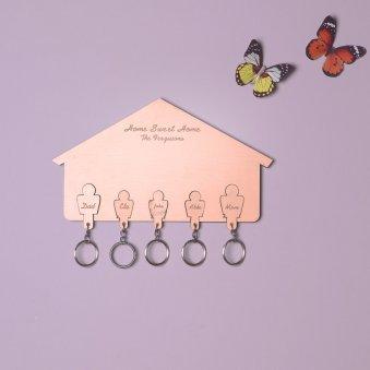 Wooden Custom Key Holder