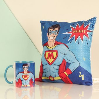Custom Super Cushion Mug Combo