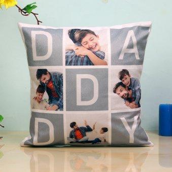 Tic Tack Toe Cushion For Dad