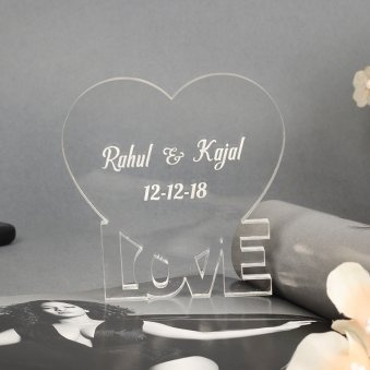 Customised Acrylic Paper Weight