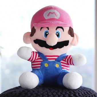 Cute Mario Soft Toy