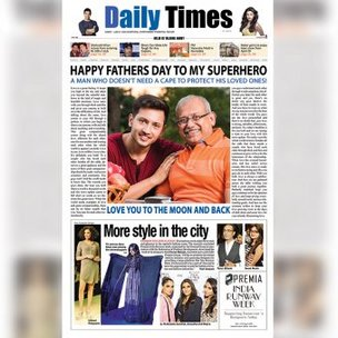 Personalised E Newspaper Headlines for Dad