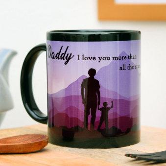 Dad Love Coffee- Fathers Day Mug