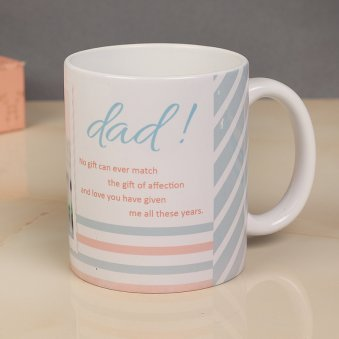 Customised Mug For Father's Day