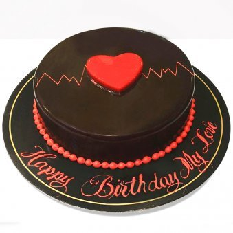 Chocolate Cake for Lover Birthday