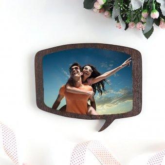 Dialogue Bubble Photo Frame