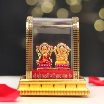Divine Laxmi Ganesha Idol
