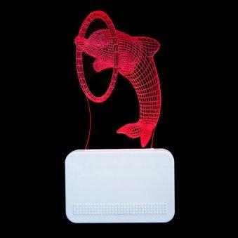 Dolphin Led Night Lamp