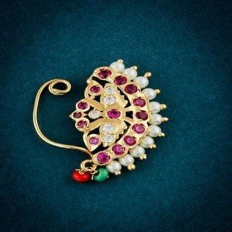 Embellished Traditional Nath