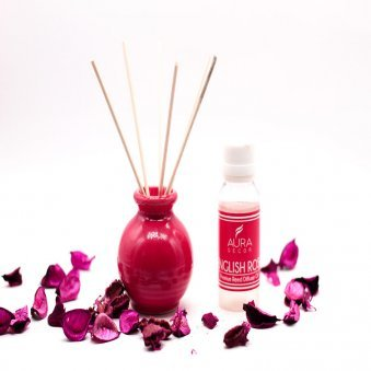 Reed Diffuser - A Gift of English Rose Aroma Diffuser Combo
