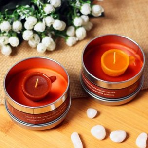 Espresso Candle Pack - Set of 2 Coffee Flavored Tin Box Candles