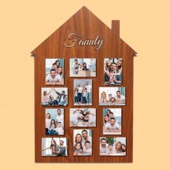 Personalised Family Wall Frame