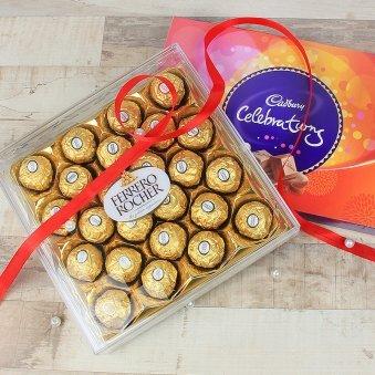 24 Ferrero Rochers For Celebrations