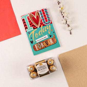 Ferrero Rocher N Card Combo
