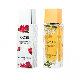 Eternal Garden Giftset For Women Rose + Jasmine Eau de Parfum 2x50 ML
