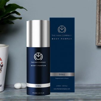 Bleu Body Perfume - First Product of GentleManly Perfume Set
