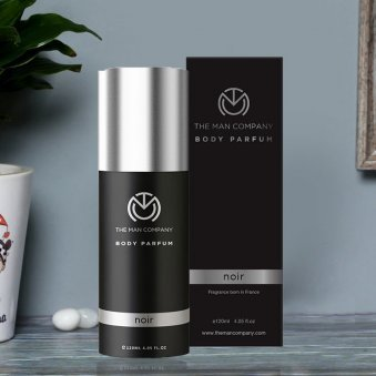 Noir Body Perfume - Second Product of GentleManly Perfume Set
