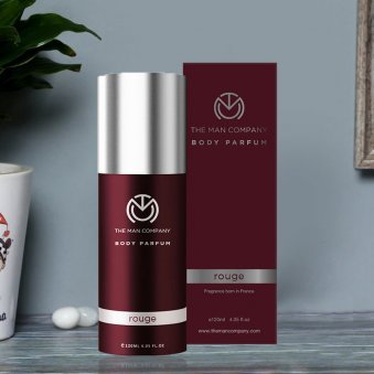Rouge Body Perfume - Third Product of GentleManly Perfume Set