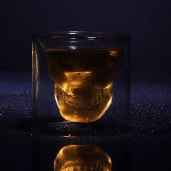 Glow Skull Gel Candle