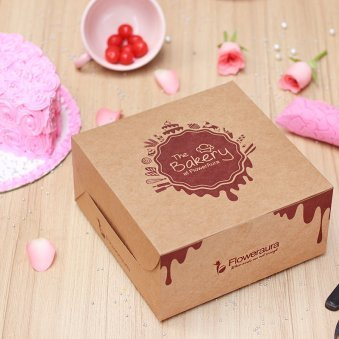 6 Months Anniversary Cake in a Box