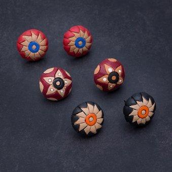 Handmade Multi-Coloured Earrings