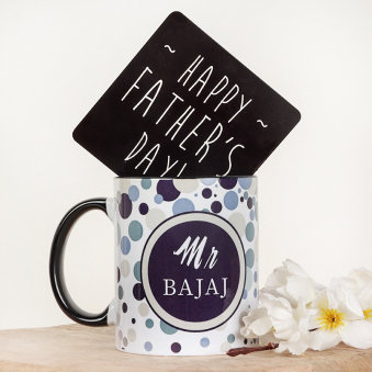 Happy Fathers Day Personalised Mug