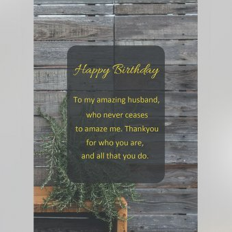 Message of Personalised Birthday E Greeting Card