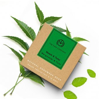 Herbal Soap Combo - Neem and Tulsi Soap 125 gm each