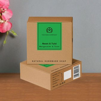 Zoom view of Neem and Tulsi Soap of Herbal Soap a Perfect Gift Combo