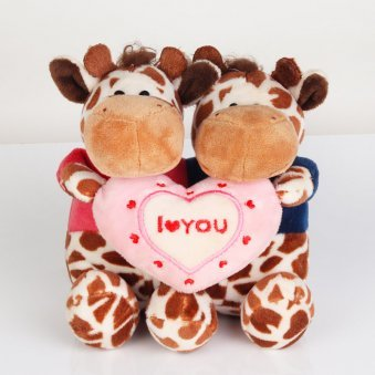 I Love You Soft Toy