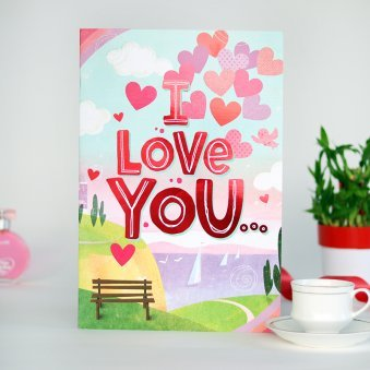 I Love You Vday Card
