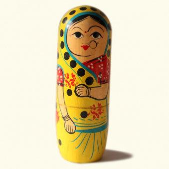 Indian Dolls Decor Set
