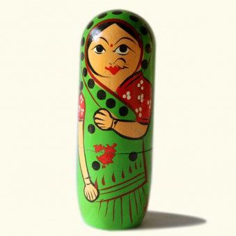 Indian Matryoshka Doll Set