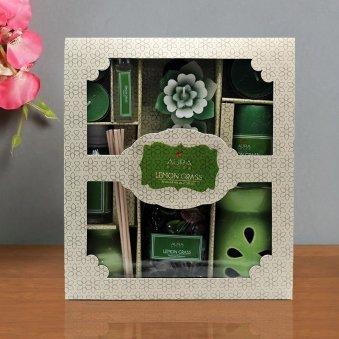 A Gift Pack of Lemongrass Oil Diffuser Set
