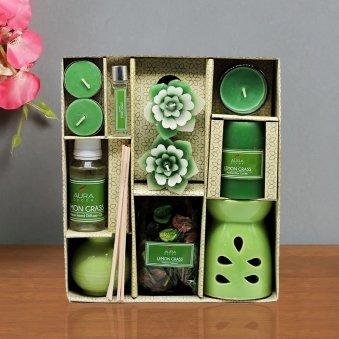 Lemongrass Oil Diffuser Gift Set in a Box