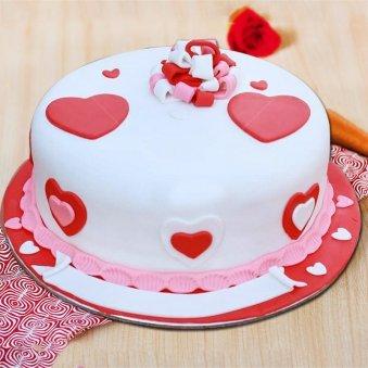 Love Themed Cake