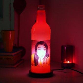 Elegant Bottle Lamp Gifts for Your Valentine Partner