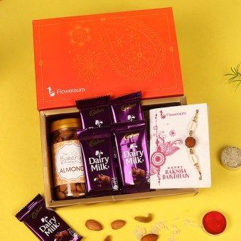 Milky Nutty Rakhi Signature Box