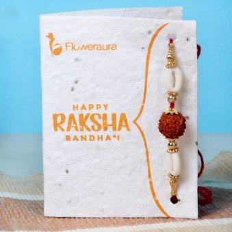 Rakhi Card in Rakhi Signature Boxes