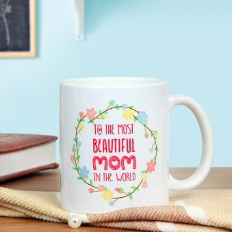 Mommy Fabulous - A Mug Gift For Fabulous Mom with Front Sided View