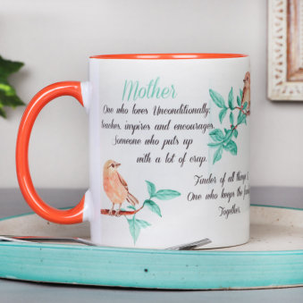 Mother Definition Mug for Mothers Day