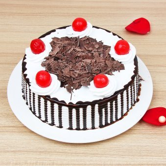 Half kg Black Forest cake - Second gift of Must Be Love